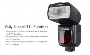 Godox V860II Flash Speedlite for Nikon