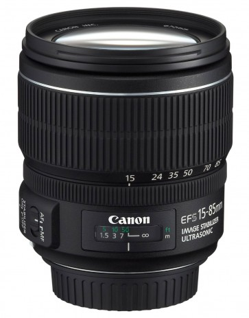 Canon EF-S 15-85mm f/3.5-5.6 IS USM Zoom Lens