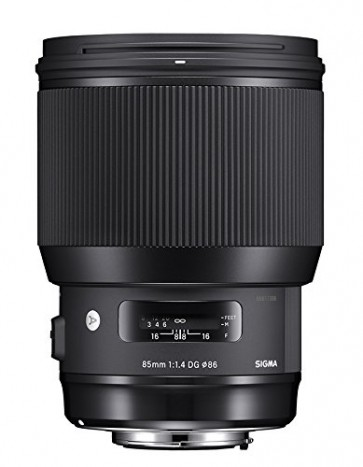 Sigma 85mm f/1.4 DG HSM Art Lens for Canon Cameras