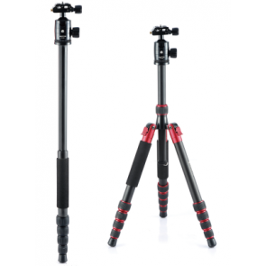 Professional Camera Tripod With Monopod