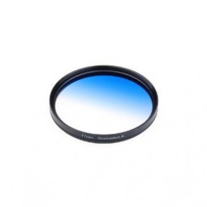 77mm Graduated blue Color Filter