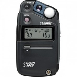Sekonic L-308S Flashmate - Digital Incident/Reflected/Flash