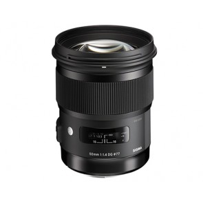 Sigma 50mm f/1.4 DG HSM Art Lens for Nikon Cameras