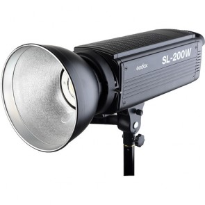 Godox SL-200 200W 5600K White Version LCD Panel LED Video Light