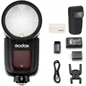 Godox V1-C Round Head Camera Flash Speedlite Flash