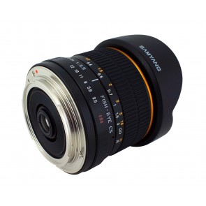 Samyang SY8M-C 8mm F3.5 Prime Lens for Canon (Black)